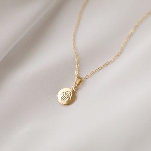 Petite Hamsa Necklace | 18k Gold Filled